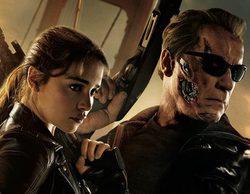 Sarah Connor y el T-800 unen fuerzas en este póster de 'Terminator Génesis'