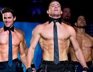 Channing Tatum se desnuda con su equipo en el nuevo póster de 'Magic Mike XXL'