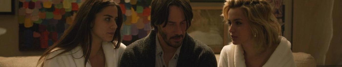 Ana de Armas seduce y martiriza a Keanu Reeves en el nuevo tráiler de 'Knock, knock'