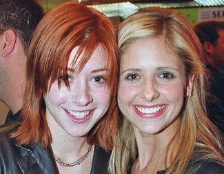 Sarah Michelle Gellar y Alyson Hannigan protagonizan una adorable mini-reunión de 'Buffy Cazavampiros'