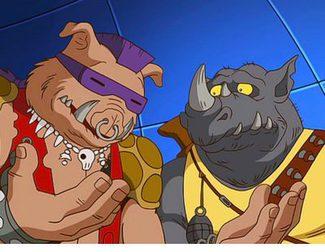 Primer vistazo de Bebop, Rocoso, Shredder y Karai en 'Ninja Turtles 2'