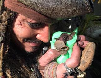 La mayor rareza que hemos visto hacer a Johnny Depp como Jack Sparrow