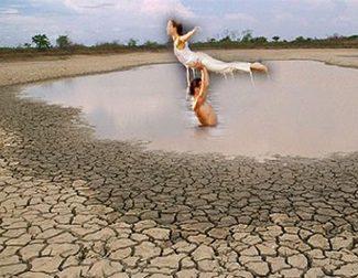 Se seca el lago donde Patrick Swayze y Jennifer Grey bailaban en 'Dirty Dancing'