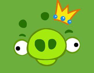 Primer vistazo a los cerdos verdes de la película de 'Angry Birds'