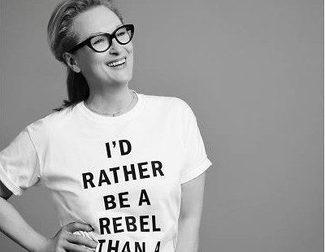 Meryl Streep causa polémica con una camiseta de 'Sufragistas'