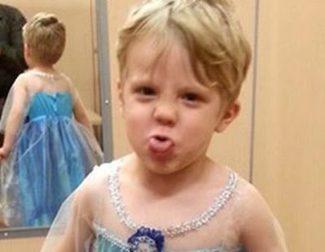 La historia de Caiden, el niño que quiere disfrazarse de Elsa, contra los estereotipos