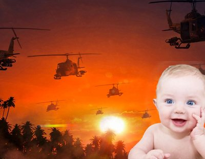 El bebé de 5 meses de Elon Musk y Grimes ha visto 'Apocalypse Now' y le gusta el arte radical