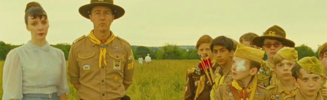 'Moonrise Kingdom' con Edward Norton