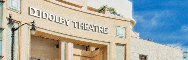 Boceto del Dolby Theatre