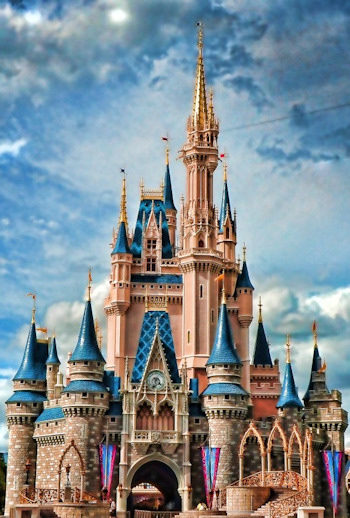 Castillo de Disneyland
