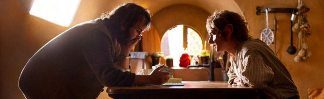 Peter Jackson y Martin Freeman