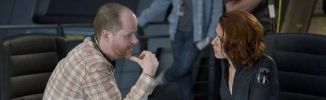 Joss Whedon en el rodaje de la primera parte