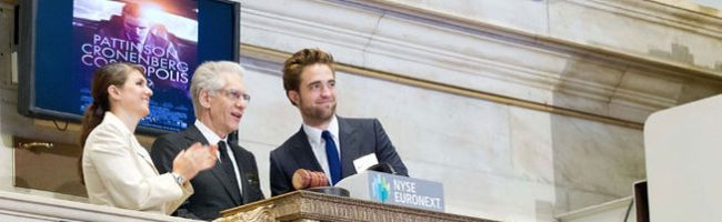 Robert Pattinson en Wall Street