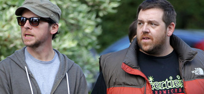 Simon Pegg y Nick Frost en 'The World's End'