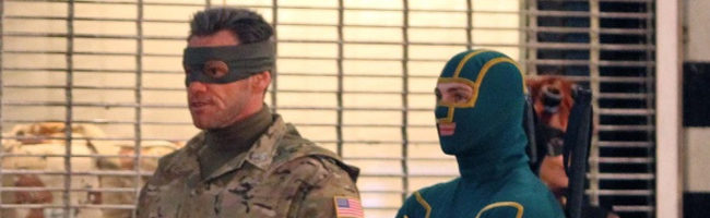 Así es Jim Carrey como el Coronel Stars en 'Kick-Ass 2: Balls to the Wall'