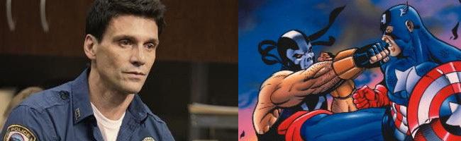 Frank Grillo, Crossbones y Capitán América