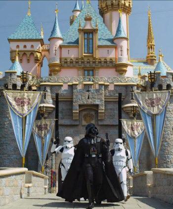 Darth Vader en Disneyland