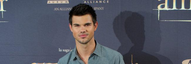 Taylor Lautner presenta 'Amanecer: Parte 2' en Madrid