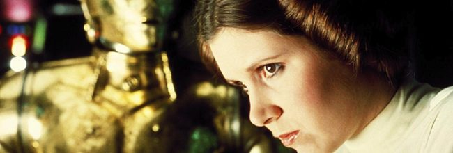 Carrie Fisher en Star Wars