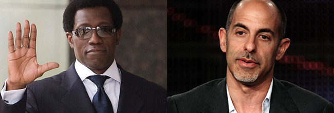 David Goyer y Wesley Snipes