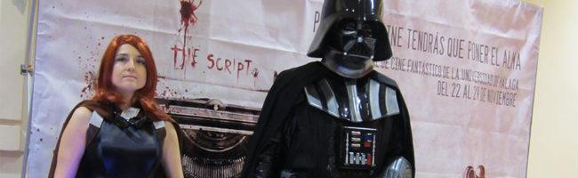 Darth Vader en el Fancine 2012 de Málaga
