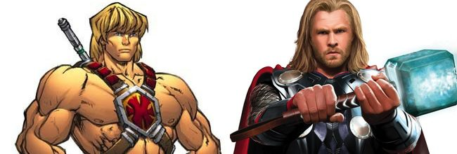 He-Man y Thor