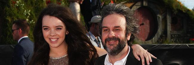 Peter Jackson e hija