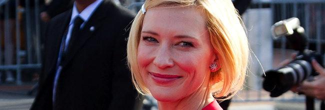 Cate Blanchett en la premiere de El Hobbit en Wellington