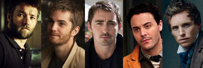 Joel Edgerton, Jim Sturgess, Lee Pace, Jack Huston y Eddie Redmayne