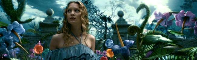 'Alicia en el país de las maravillas' de Tim Burton