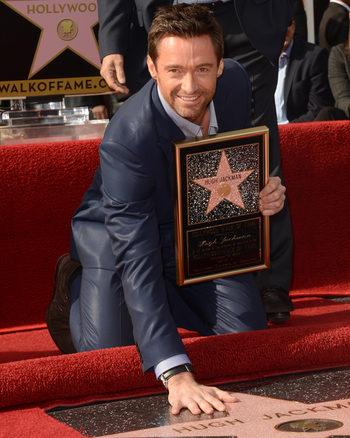 Hugh Jackman recibe su estrella en el Paseo de la Fama de Hollywood