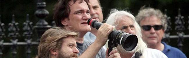 Quentin Tarantino dirigiendo