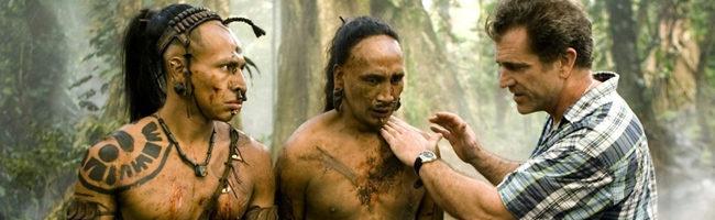 Mel Gibson dirigiendo 'Apocalypto' (2006)