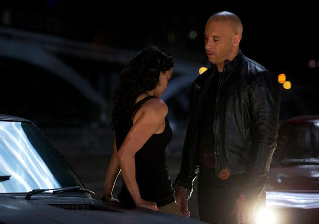 Michelle Rodriguez y Vin Diesel en 'Fast & Furious 6'