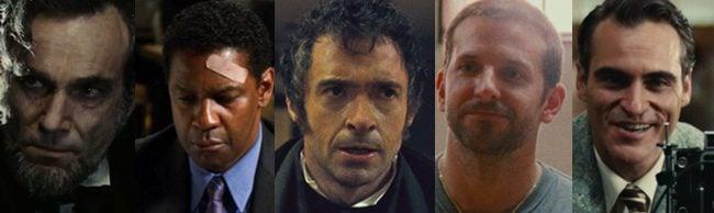 Nominados al Oscar 2013 a Mejor actor protagonista
