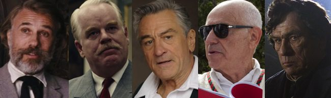 Nominados al Oscar 2013 a Mejor actor de reparto