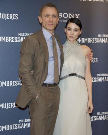 Rooney Mara asegura que Daniel Craig no será eliminado de la secuela de 'Los hombres que no amaban a las mujeres'