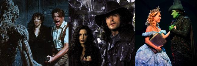 'La Momia' - 'Van Helsing' - 'Wicked'