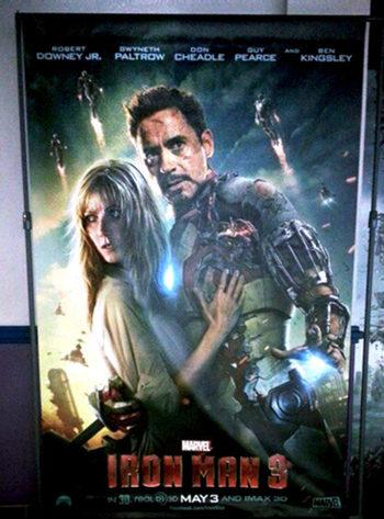 Póster 'Iron Man 3'