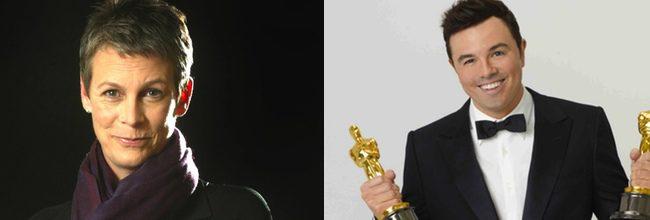 Jamie Lee Curtis y Seth MacFarlane
