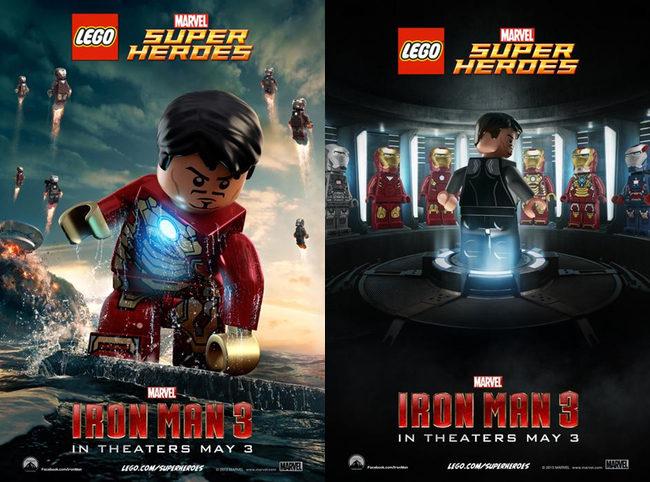 'Iron Man 3' por Lego