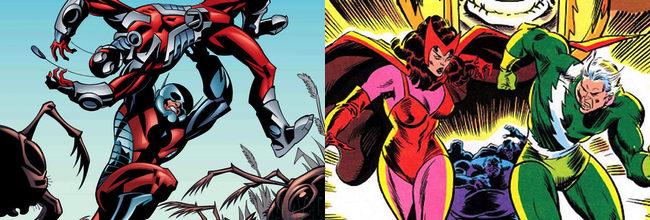 Ant-Man / Bruja Escarlata y Mercurio