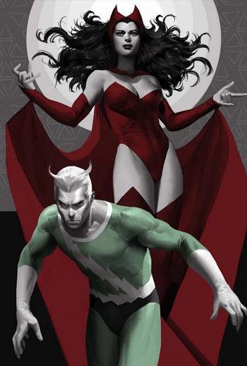 Mercurio y Bruja Escarlata, próximos héroes de 'Los Vengadores 2'