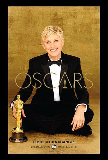 Póster Ellen Degeneres Oscar