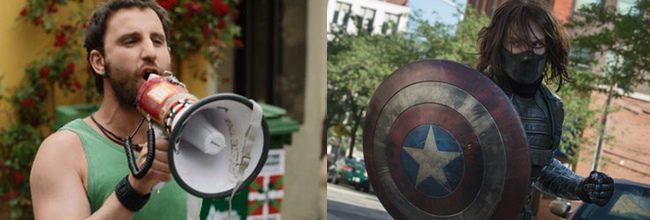 Ocho apellidos vascos y Capitán América: El soldado de invierno