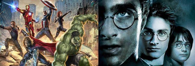 Los Vengadores y la saga Harry Potter