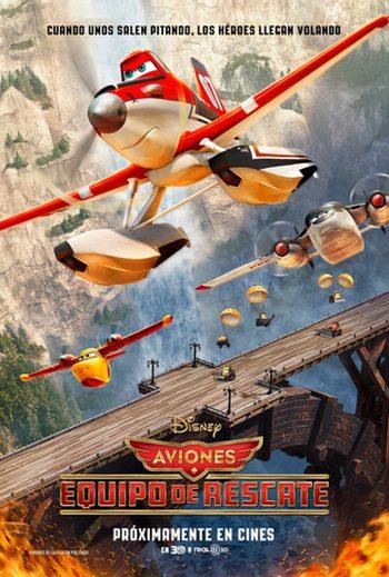 'Aviones: equipo de rescate'