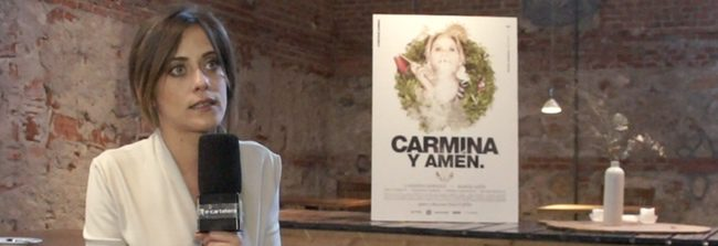 María León presenta 'Carmina y amén' en Madrid