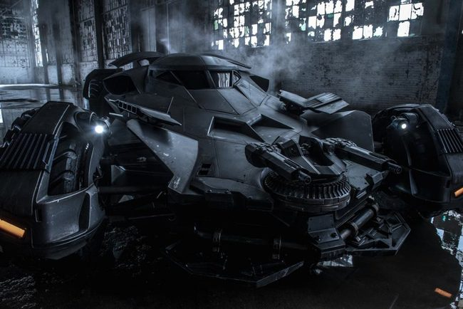 Batmóvil 'Batman v Superman: Dawn of Justice'