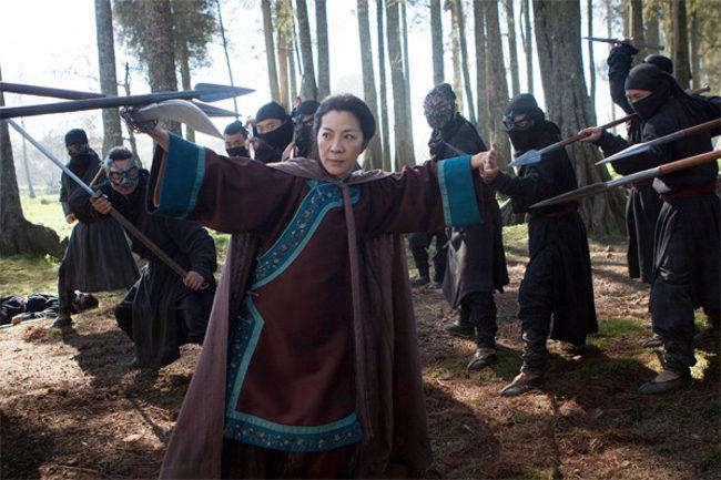 Michelle Yeoh en Crouching Tiger, Hidden Dragon: The Green Legend